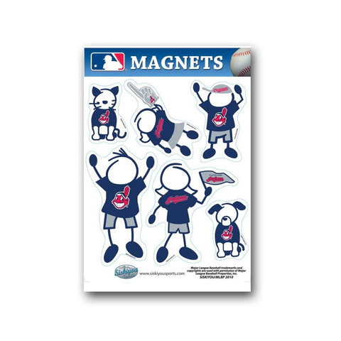 Family Magnets - Cleveland Indians - Peazz.com