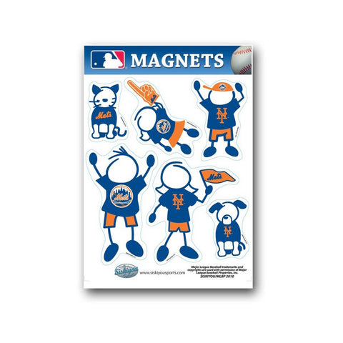 Family Magnets - New York Mets - Peazz.com