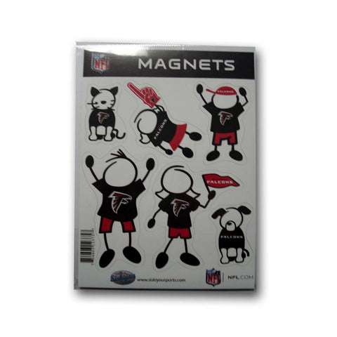 Family Magnets - Atlanta Falcons - Peazz.com