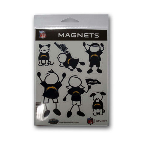 Family Magnets - San Diego Chargers - Peazz.com