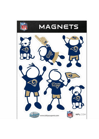 Family Magnets - Saint Louis Rams - Peazz.com
