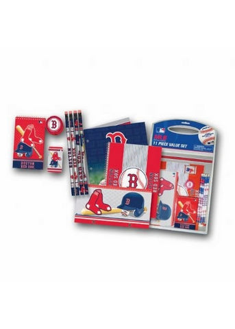 11 Piece Stationery Set - Boston Red Sox - Peazz.com