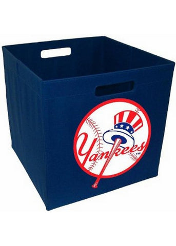 New York Yankees - 12'' Storage Cube - Peazz.com