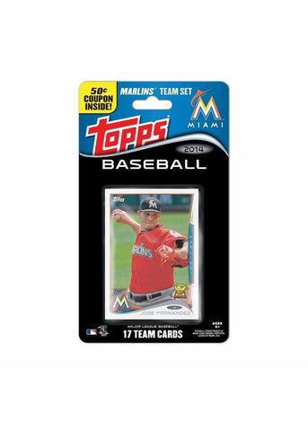 2014 Topps MLB Sets -  Miami Marlins - Peazz.com