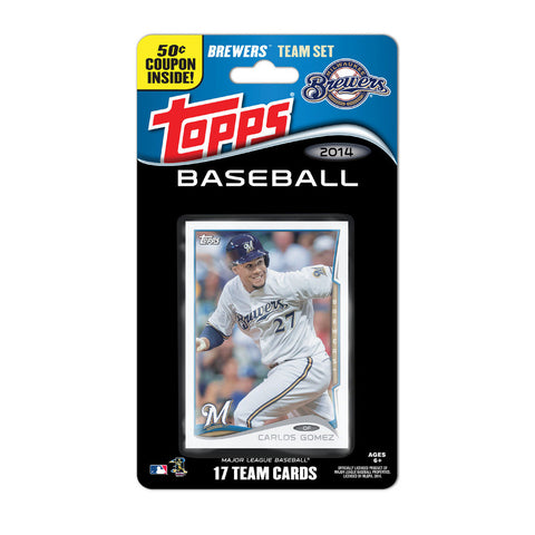 2014 Topps MLB Sets -  Milwaukee Brewers - Peazz.com