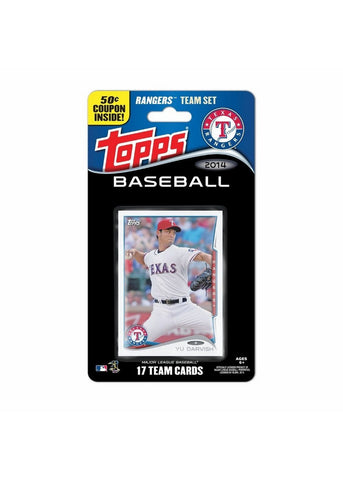 2014 Topps MLB Sets -  Texas Rangers - Peazz.com
