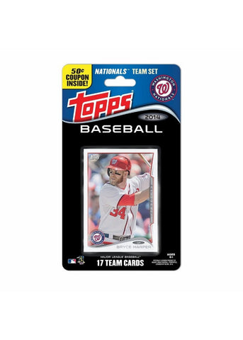 2014 Topps MLB Sets -  Washington Nationals - Peazz.com