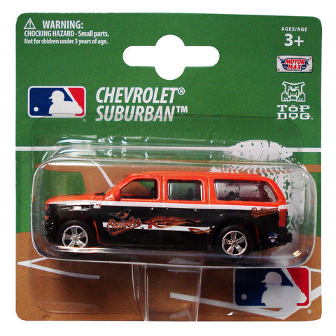 Top Dog 1:64 Scale Baltimore Orioles Suburban - Peazz.com