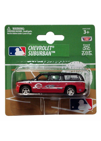 Top Dog 1:64 Scale Cincinnati Reds Suburban - Peazz.com
