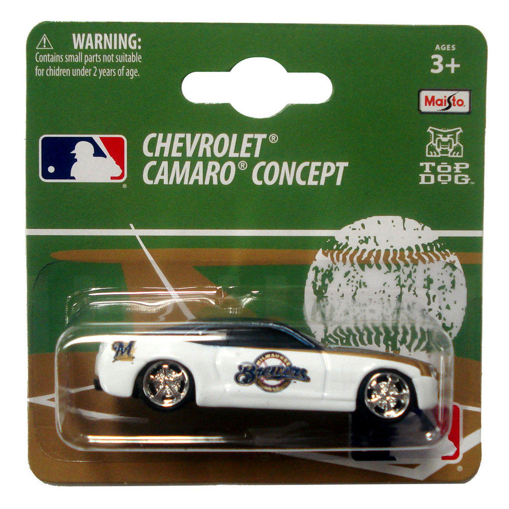 MLB Chevy Camaro 1:64 Style - Milwaukee Brewers SPI-TDBBMILCC