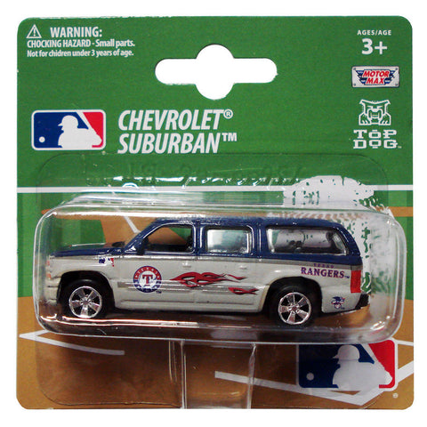 Top Dog 1:64 Scale Texas Rangers Suburban - Peazz.com