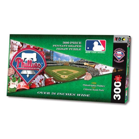MLB Pennant Shaped Puzzle - Phillies - Peazz.com