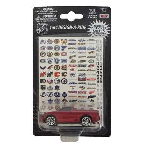 HL Design a Ride Diecast car. Each car comes with logos from all the NHL teams so you can design your own 1:64 scale car. - Peazz.com