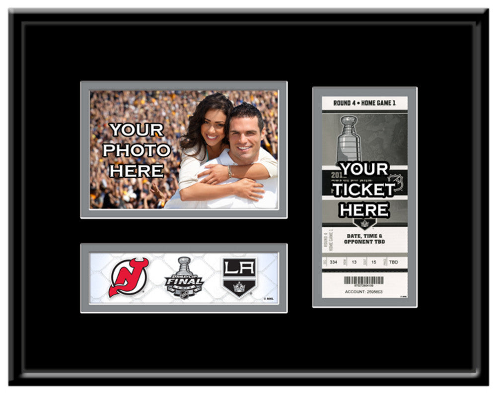 Los Angeles Kings 2012 Stanley Cup 4X6 Photo & Ticket Frame