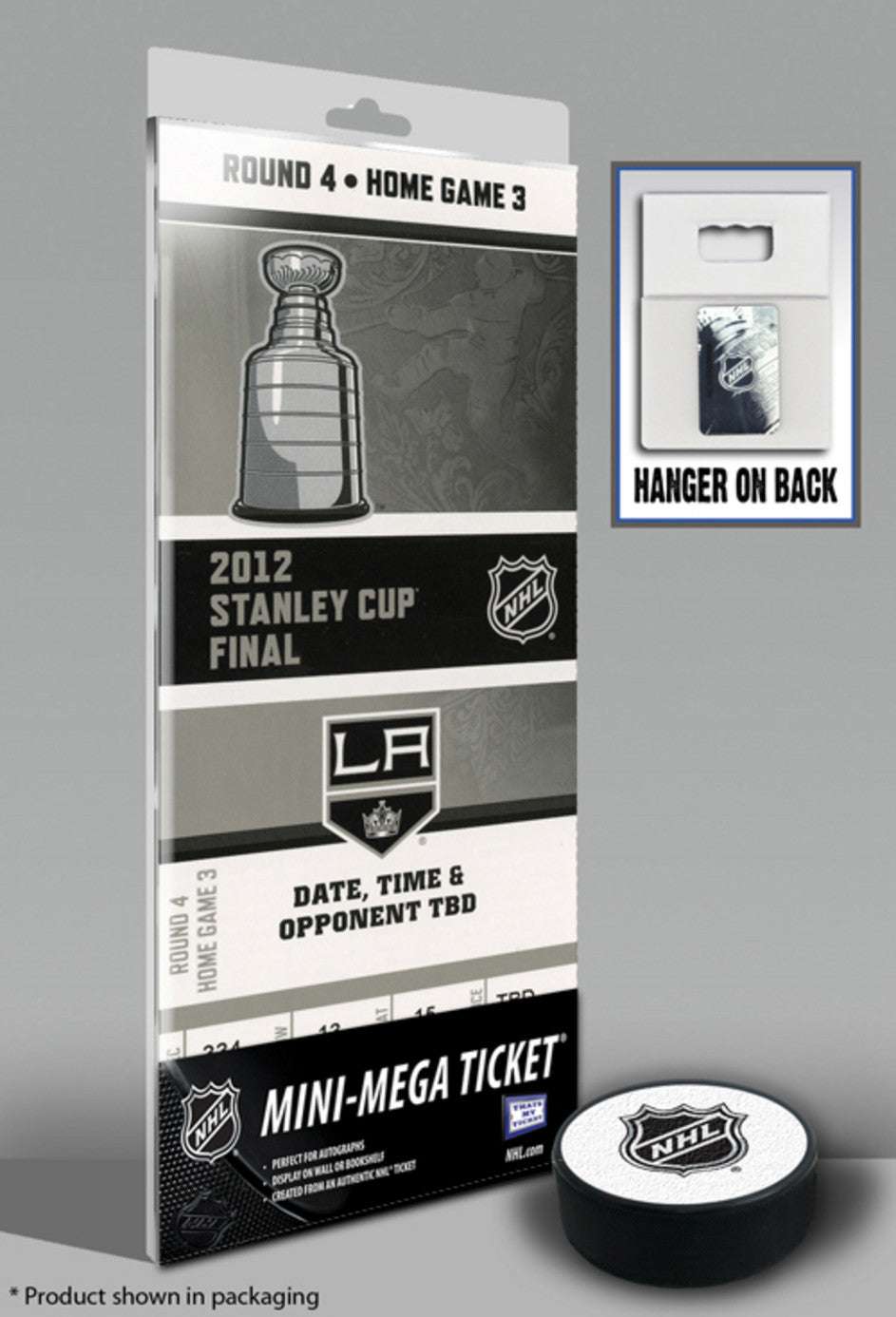 Los Angeles Kings 2012 Stanley Cup Mini-Mega Ticket