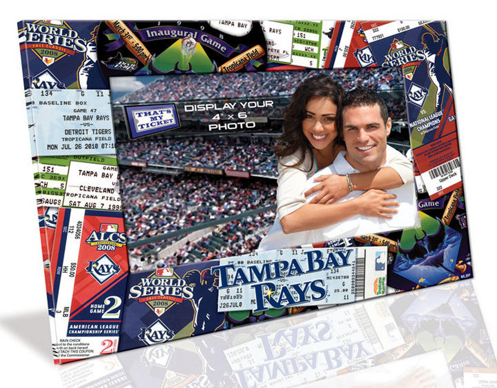 4X6 Picture Frame - Tampa Bay Rays