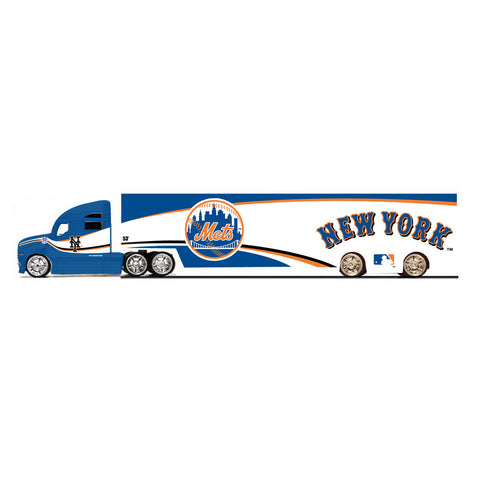 Top Dog 1:64 Tractor Trailer Transport - New York Mets - Peazz.com