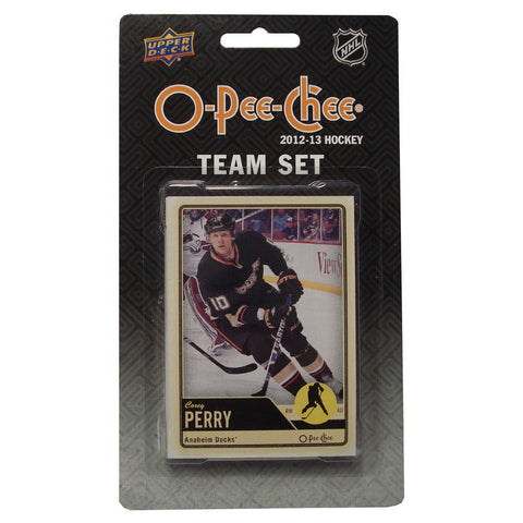 2012/13 Upper Deck O-Pee-Chee Team Card Set (17 Cards) - Anaheim Mighty Ducks - Peazz.com
