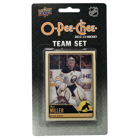 2012/13 Upper Deck O-Pee-Chee Team Card Set (17 Cards) - Buffalo Sabres - Peazz.com