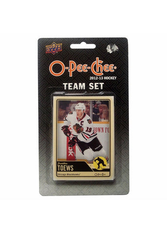 2012/13 Upper Deck O-Pee-Chee Team Card Set (17 Cards) - Chicago Blackhawks - Peazz.com