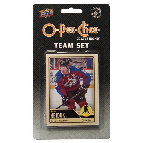 2012/13 Upper Deck O-Pee-Chee Team Card Set (17 Cards) - Colorado Avanlache - Peazz.com