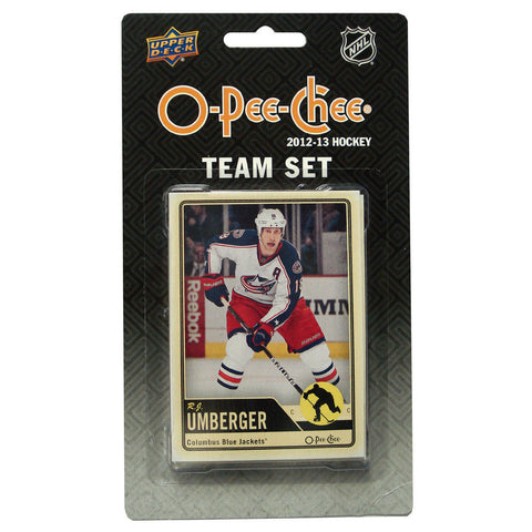 2012/13 Upper Deck O-Pee-Chee Team Card Set (17 Cards) - Columbus Blue Jackets - Peazz.com