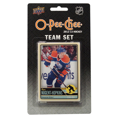 2012/13 Upper Deck O-Pee-Chee Team Card Set (17 Cards) - Edmonton Oilers - Peazz.com