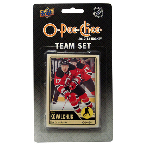 2012/13 Upper Deck O-Pee-Chee Team Card Set (17 Cards) - New Jersey Devils - Peazz.com