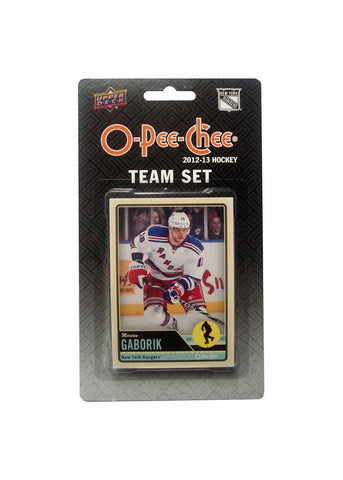 2012/13 Upper Deck O-Pee-Chee Team Card Set (17 Cards) - New York Rangers - Peazz.com