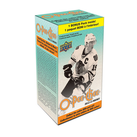 2012/13 Upper Deck O-Pee-Chee Blaster NHL (14 Packs) - Peazz.com