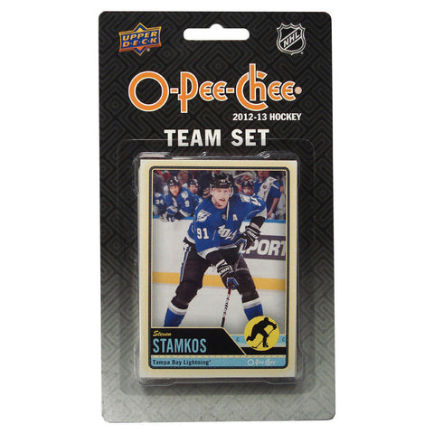 2012/13 Upper Deck O-Pee-Chee Team Card Set (17 Cards) - Tampa Bay Lightning - Peazz.com