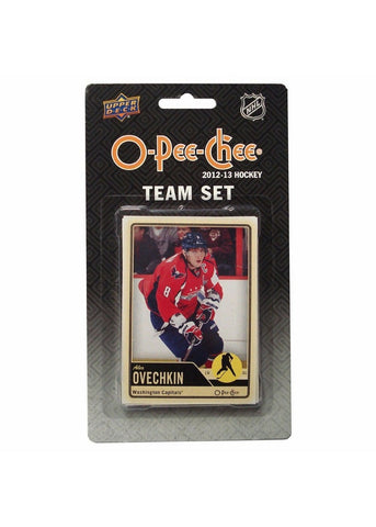 2012/13 Upper Deck O-Pee-Chee Team Card Set (17 Cards) - Washington Capitals - Peazz.com