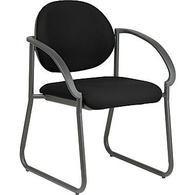 Work Smart V3460-231 Deluxe Sled Base Arm Chair - Peazz.com