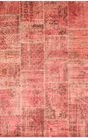 Abacasa 7057-8x10 Sonoma Old World Raspberry Area Rug - Peazz.com