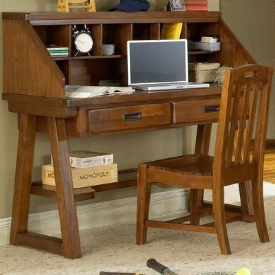American Woodcrafters 1800-343 Desk And Hutch (Rta) - Peazz.com