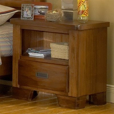 American Woodcrafters 1800-410 Night Stand - Peazz.com