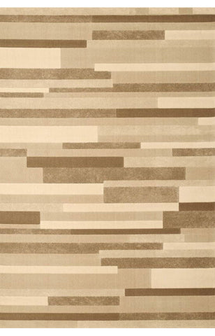 Abacasa 1200-5x8 Broadway Tiles Tan/Ivory/Lt.Brown Area Rug - Peazz.com