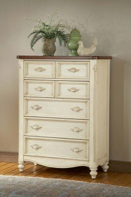 American Woodcrafters 3501-150 Five Drawer Chest - Peazz.com