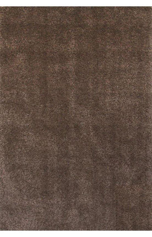 Bayden Hill 3004-8x10 Comfort Shag Chocolate Area Rug - Peazz.com