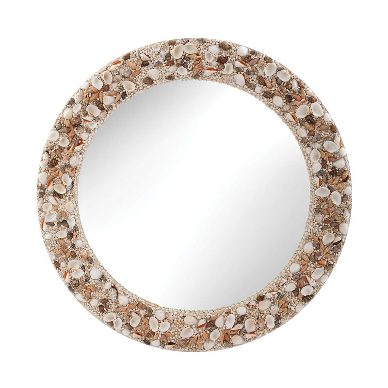 Lazy Susan 159-014 Round Shell Mirror