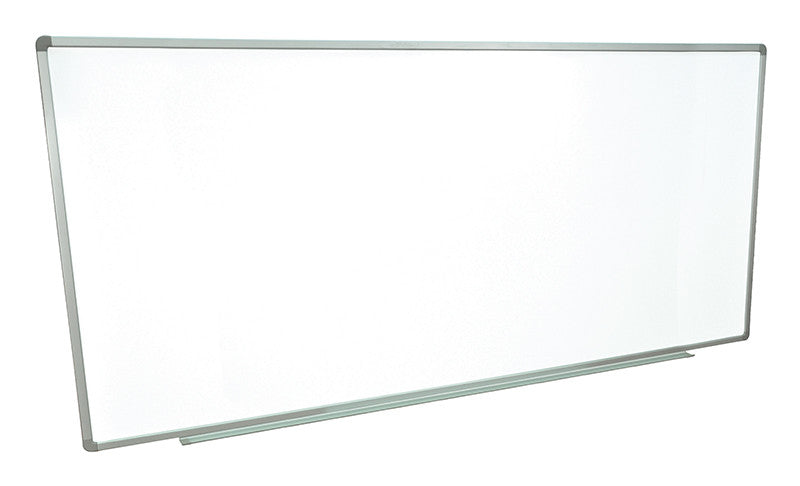 "Luxor WB9640W Wall-mounted whiteboards 96"" x 40"
