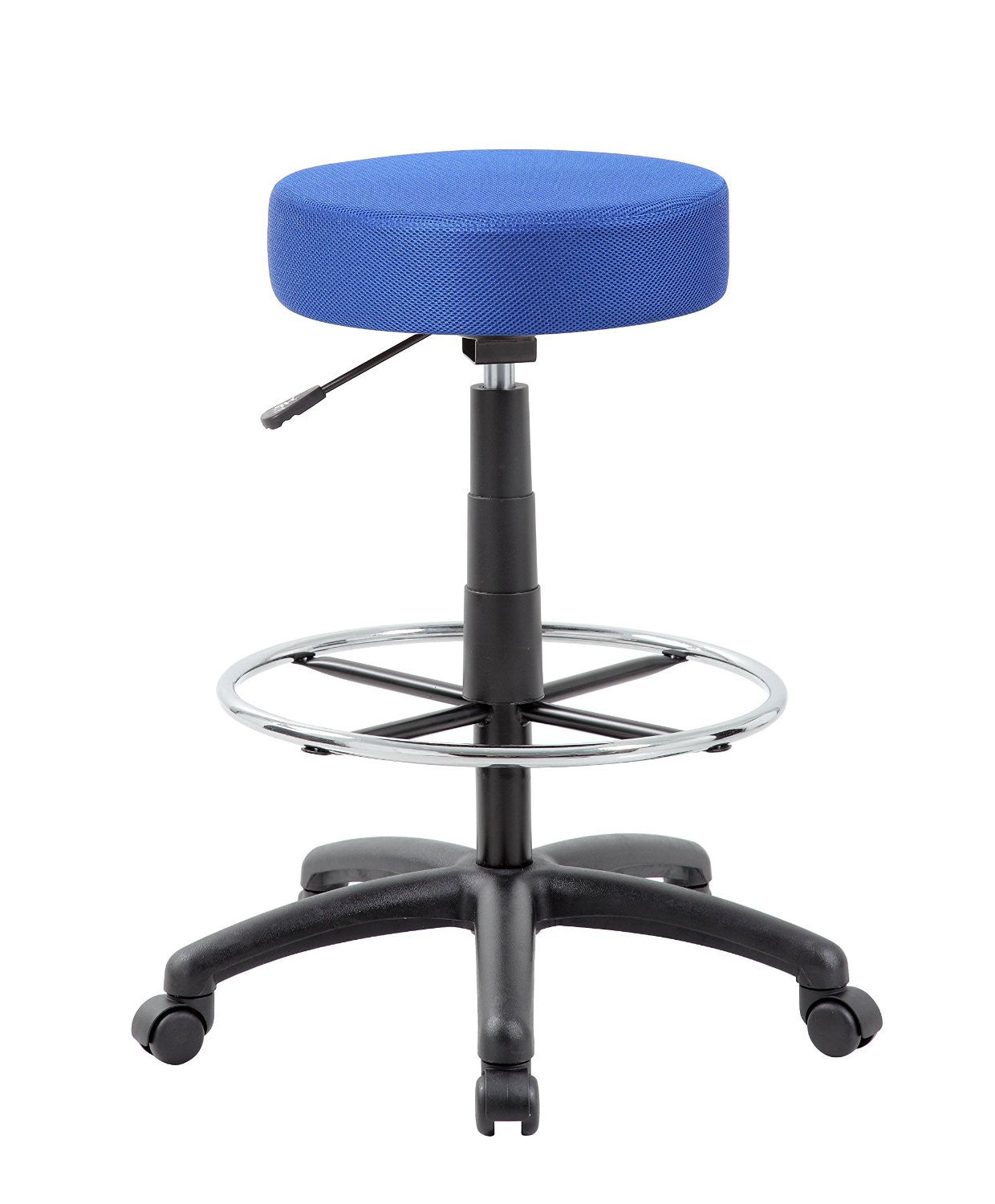 Boss Office Products B16210-BE The DOT drafting stool, Blue