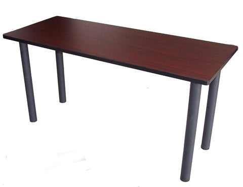 "Boss Office Products NTT2460-M Boss Training Table 60""W X 24""D Mahogany - Peazz.com"