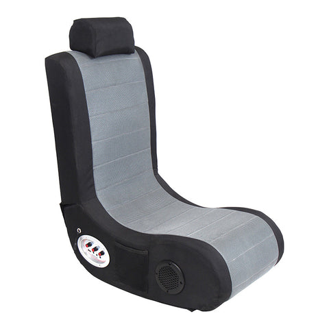 LumiSource BM-GMR BK+GY Gamer BoomChair¨ - Peazz.com