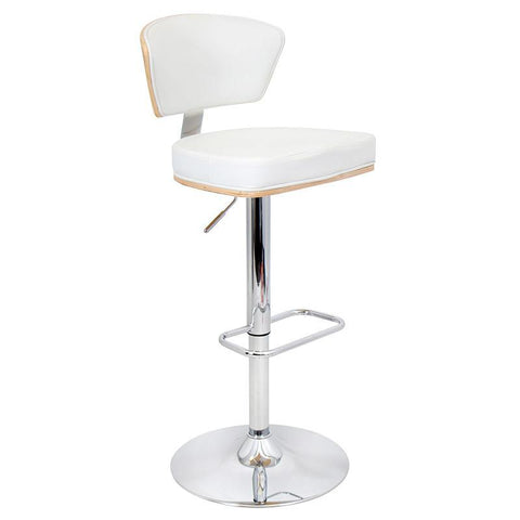 LumiSource BS-JY-RAV BM+W Ravinia Bar Stool - BarstoolDirect.com