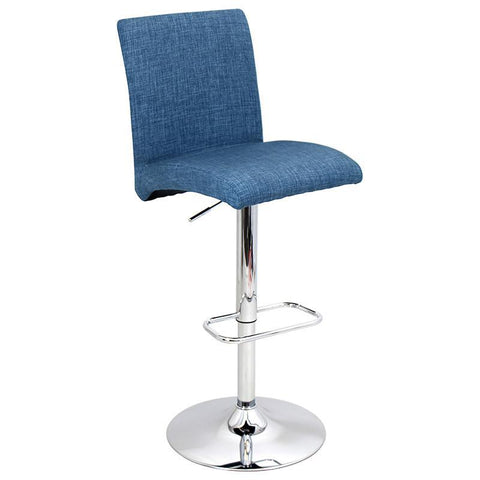 LumiSource BS-JY-TNT BU Tintori Bar Stool - BarstoolDirect.com