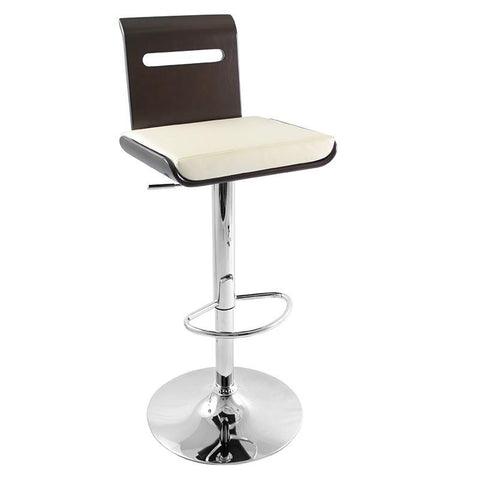 LumiSource BS-JY-VIERA WNG Viera Bar Stool - BarstoolDirect.com