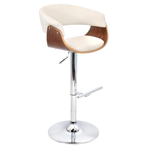 LumiSource BS-JY-VMO WL+C Vintage Mod Bar Stool - BarstoolDirect.com