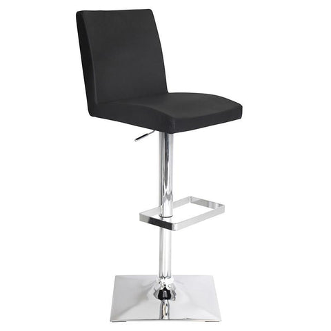 LumiSource BS-TW-CAPTN BK Captain Bar Stool - BarstoolDirect.com