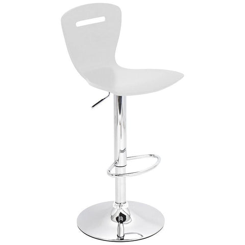 LumiSource BS-TW-H2 W H2 Bar Stool - BarstoolDirect.com